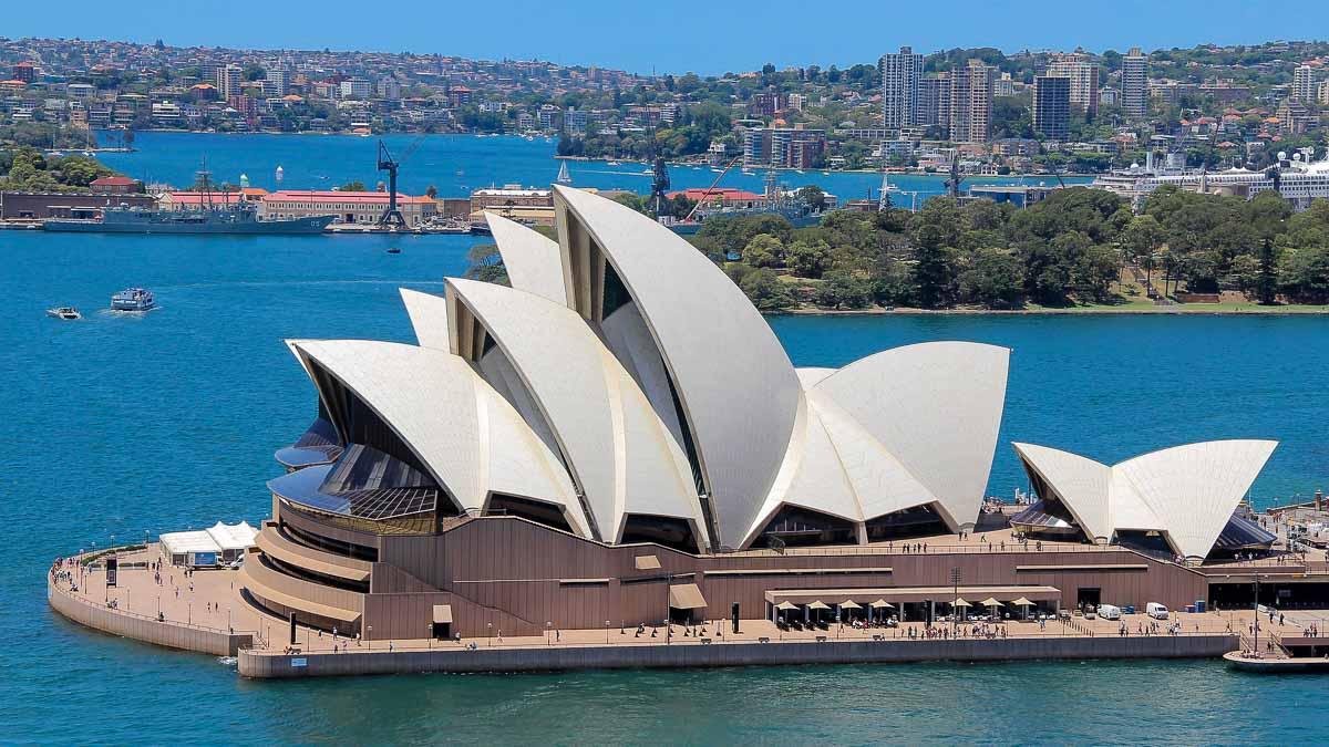 ^ - Weltkulturerbe ustralien (UNSO) - Sydney Opernhaus